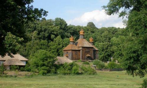 UKRAINA / - / przedmieścia Kijowa, Pyrohiw / Skansen wszystkich regionow Ukrainy