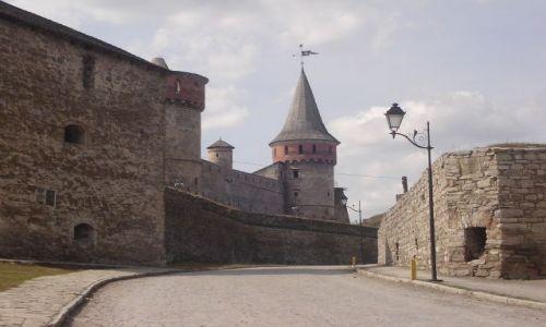 UKRAINA / Pd. Ukraina / Kamieniec Podolski / Twierdza w Kamieńcu Podolskim
