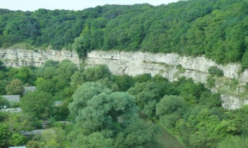 UKRAINA / Ukraina / Kamieniec Podolski / Kanion rzeki Smotrycz