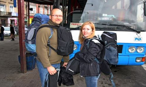 Zdjęcie UKRAINA / Lwow / Lwow / My gotowi do drogi
