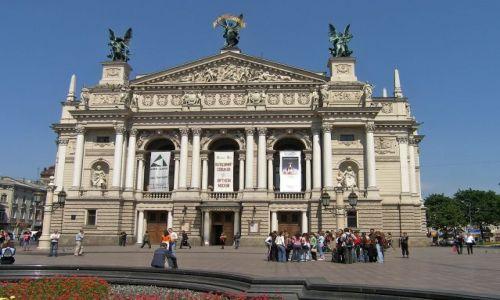 Zdjecie UKRAINA / - / Lwów / Teatr Wielki we Lwowie