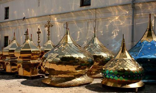 Zdjęcie UKRAINA / - / KIJÓW / Zakład produkujący kopuły