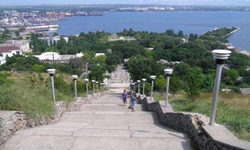 Zdjecie UKRAINA / - / Sewastopol / Schody