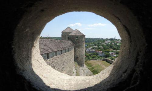 Zdjęcie UKRAINA / Podole / Kamieniec Podolski / Panorama miasta z zamku