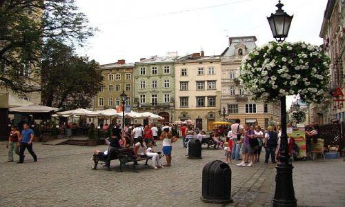 Zdjęcie UKRAINA / Ukraina Zachodnia / Lwów / rynek