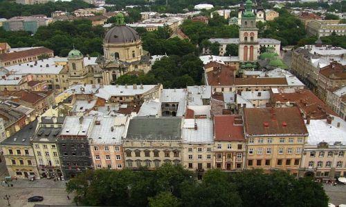 Zdjęcie UKRAINA / Ukraina Zachodnia / Lwów / widok z wieży ratusza