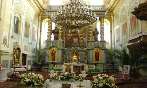Zdjecie UKRAINA / Ukraina Zachodnia / Żółkiew / klasztor Dominikanów