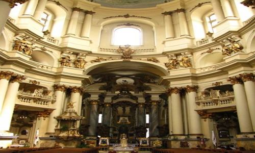 Zdjęcie UKRAINA / Ukraina Zachodnia / Lwów / kościół Dominikanów