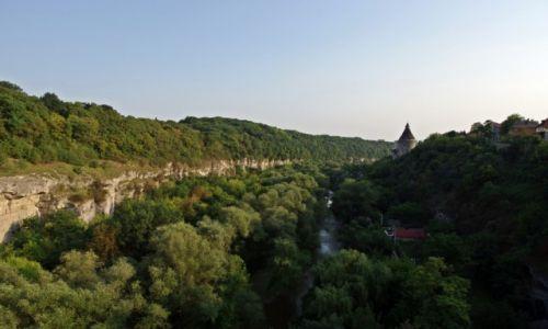 UKRAINA / Podole / Kamieniec Podolski / Jar o zachodzie