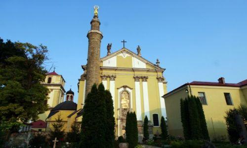 UKRAINA / Podole / Kamieniec Podolski / Katolicka katedra z minaretem