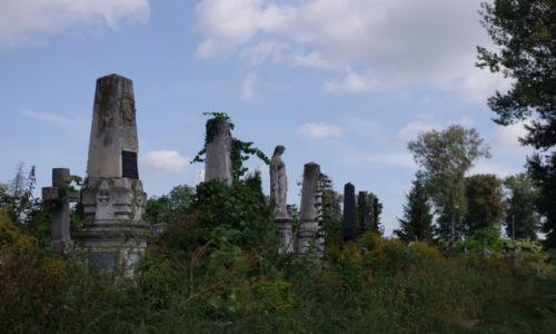 UKRAINA / Bukowina / Czerniowce / Czerniowiecki cmentarz