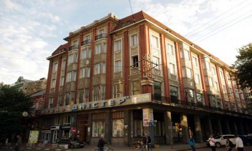 UKRAINA / Galicja / Iwano Frankowsk / Hotel Dnister
