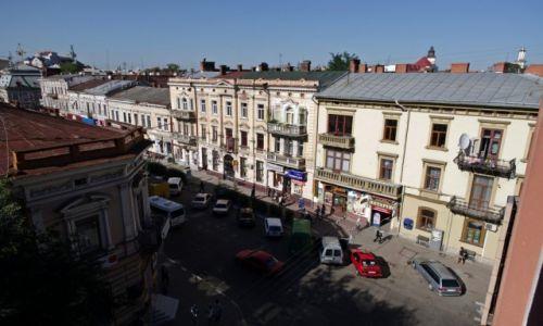 Zdjecie UKRAINA / Galicja / Iwano Frankowsk / Widok z okna