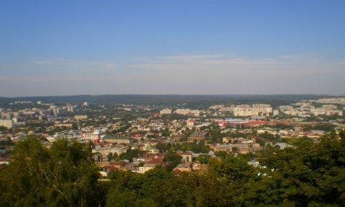 Zdjęcie UKRAINA / lwowskie / Lwów / miasto z Wysokiego Zamku