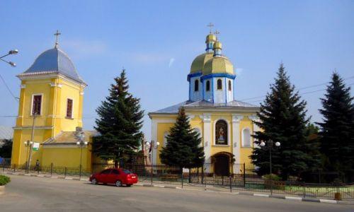 Zdjęcie UKRAINA / lwowskie / lokolice Lwowa / cerkiew