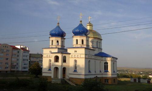 Zdjecie UKRAINA / bukowina / na trasie  Zaleszczyki - Czerniowce / cerkiew