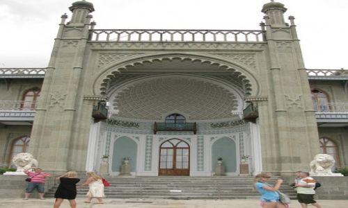 Zdjęcie UKRAINA / Krym / Ałupka / pałac Woroncowa