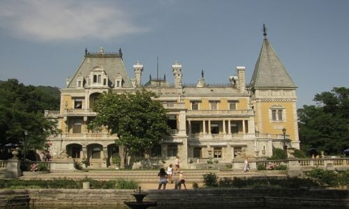 Zdjęcie UKRAINA / Krym / Massandra / pałac Aleksandra III