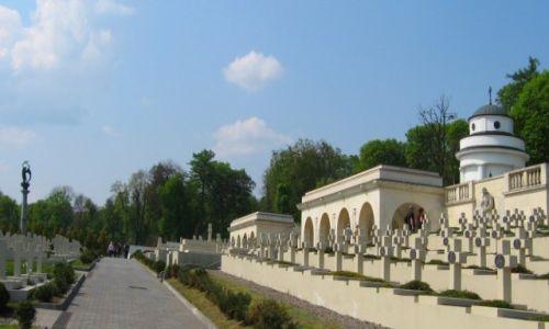 Zdjecie UKRAINA / Lwow / Lwów -Łyczakow / Cmentarz Orląt Lwowskich
