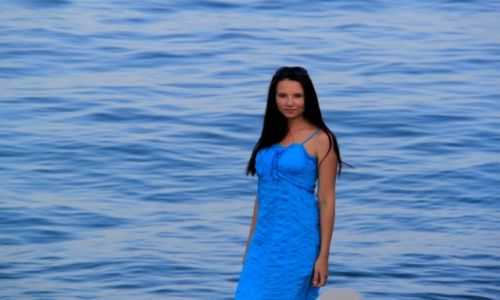 Zdjecie UKRAINA / Krym / Koktebel' / Niebieski na niebieskim