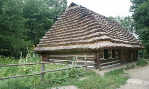 Zdjęcie UKRAINA / Zachodnia Ukraina / Muzeum Architektury Ludowej i Życia Wiejskiego we Lwowie / Chałupa z Podola 2
