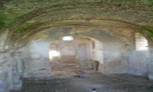 Zdjecie UKRAINA / podole / Meżyriv / ruiny kościoła