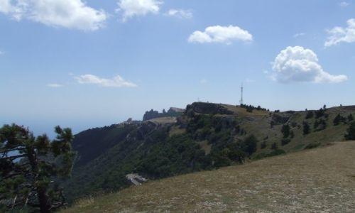 UKRAINA / Krym / okolice Jałty / Aj-Petri czyli góra św. Piotra