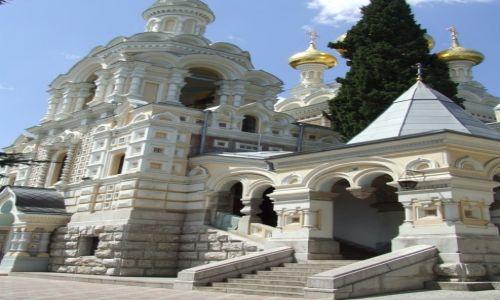 Zdjęcie UKRAINA / Krym / Jałta / bizantyjsko-rosyjska cerkiew