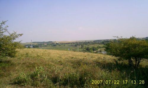 Zdjecie UKRAINA / podole / Meżyriv / krajobraz