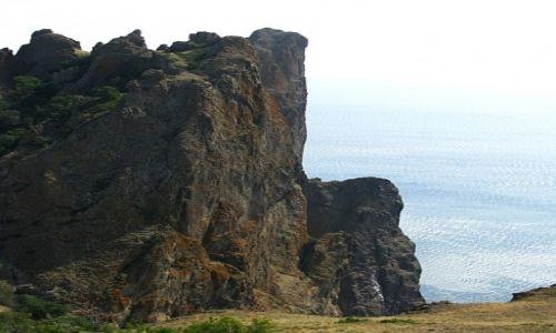 UKRAINA / Krym / Masyw Kara-Dagu / górska wycieczka