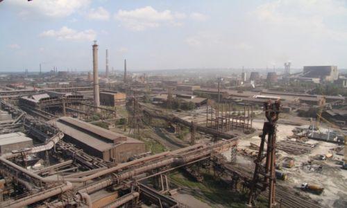Zdjecie UKRAINA / Dnieprodzerżynsk / Huta stali / Huta