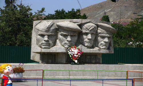 Zdjęcie UKRAINA / Krym / Koktebel / pamięci poległych
