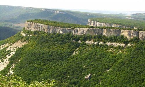 Zdjęcie UKRAINA / Krym / twierdza Tepe Kermen / widok ze szczytu