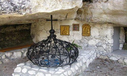 UKRAINA / Krym / okolice Bakczysaraju / Źródło św. Anastazji
