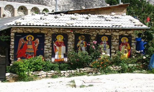 UKRAINA / Krym / okolice Bakczysaraju / klasztor św. Anastazji
