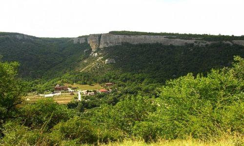 UKRAINA / Krym / okolice Bakczysaraju / trekking do Kaczi-Kalon