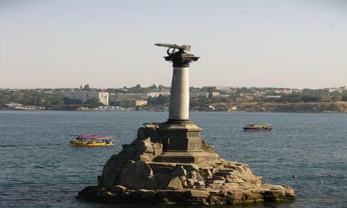 UKRAINA / Krym / Sewastopol / Pomnik Zatopionych Okrętów