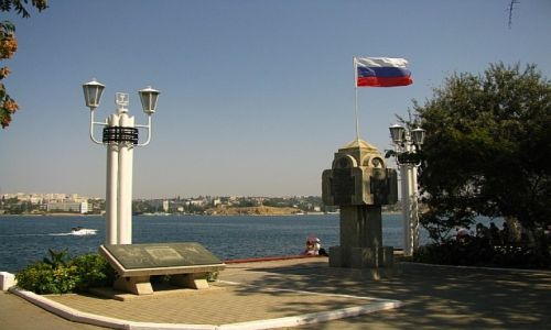 UKRAINA / Krym / Sewastopol / rosyjska enklawa