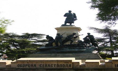 Zdjęcie UKRAINA / Krym / Sewastopol / pomnik Obrońców Sewastopola