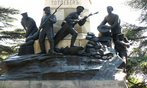 Zdjecie UKRAINA / Krym / Sewastopol / pomnik Obrońców Sewastopola