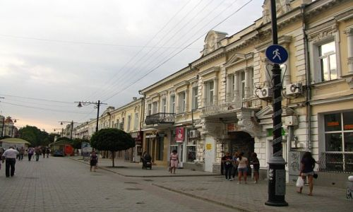 Zdjęcie UKRAINA / Krym / Symferopol / ulica Gorkiego