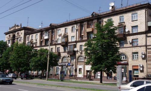 Zdjecie UKRAINA / Południowa Ukraina / Zaporoże / Domy