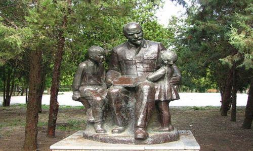 UKRAINA / Obwód Odeski / Odessa / sanatorium Odesa - park