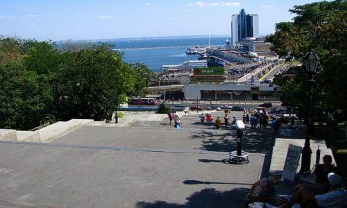 UKRAINA / Obwód Odeski / Odessa / Schody Potiomkinowskie