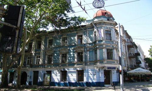 Zdjęcie UKRAINA / Obwód Odeski / Odessa / ulica Puszkinskaja