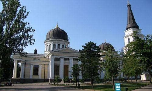 UKRAINA / Obwód Odeski / Odessa / sobór katedralny Przemienienia Pańskiego