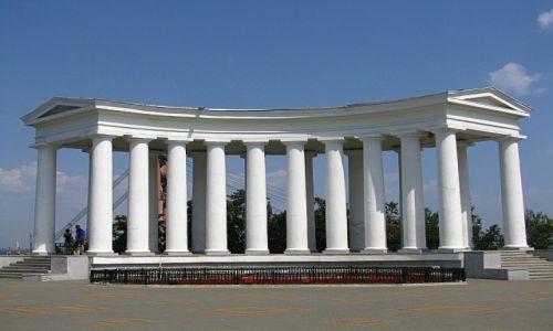Zdjęcie UKRAINA / Obwód Odeski / Odessa / Bulwar Nadmorski - pałac Woroncowa