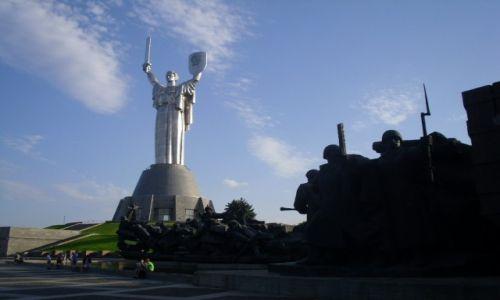 Zdjęcie UKRAINA / KIJOW / POMNIK MATKI OJCZYZNY / POMNIK MATKI OJCZYZNY KIJOW