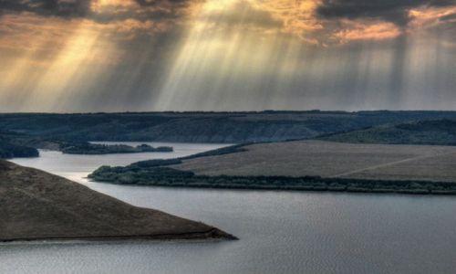 UKRAINA / Podole / jezioro Bakota / Bakota
