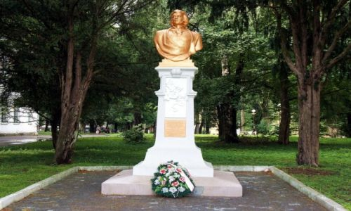 Zdjęcie UKRAINA / Aglomeracja Drohobycko-Borysławska / Drohobycz / Pomnik Adama Mickiewicza